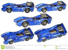 car toy blue old damaged toy car stock photo image 34003370