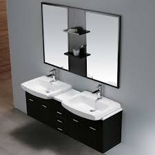 Wall Mount Bath Sink Vigo Industries Vg09001104k 59 Inch Modern Double Bowl Wall Mount