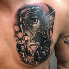 50 adventurous and ascetic gangster tattoos u2013 designs u0026 meanings