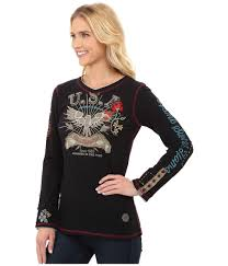 Double D Ranch Clothing Double D Ranchwear America Tee In Black Lyst