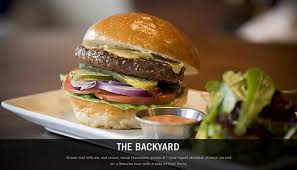 Backyard Burger Hours Cuisine The Back Abbey Gourmet Burgers Gastropub Claremont Ca