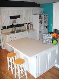 How To Chalk Paint Cabinets Hometalk - Painting kitchen cabinets chalkboard paint