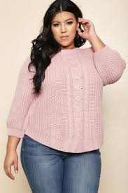 plus size cable knit sweater sail away plus size cable knit sweater tops gs