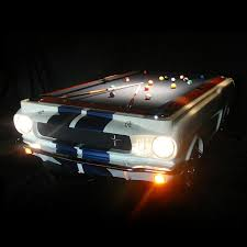 Most Expensive Pool Table 1965 Shelby Gt 350 Pool Table The Green Head