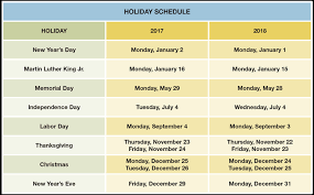 black friday usa date 2017 holiday schedule