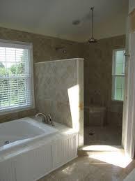 Open Showers No Doors Bathroom Walk In Showers Design Pictures Remodel Decor And