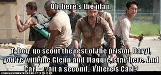 T Dogg Walking Dead Meme - oh just let him die already set phasers to lol sci fi fantasy