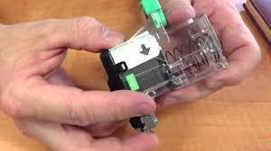 stapler refill ricoh aficio mp 2851 copier youtube