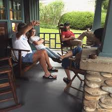Old Man In Rocking Chair Southern Scout July 2015