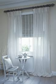 stylish curtains with blind for your bedroom decor abpho