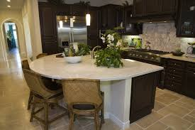 custom kitchen islands with seating 39 fabulous eat in custom kitchen designs circle design custom