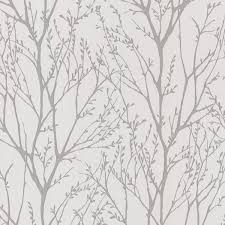 birch tree wallpaper houzz