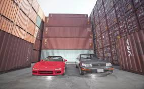 lexus japan dealer 1991 acura nsx and 1991 lexus ls 400 motor trend classic