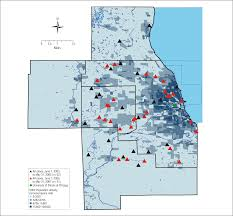 Chicago El Map by Shifting Distribution Of Chicago Area Acanthamoeba Keratitis Cases
