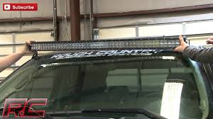 50 Curved Led Light Bar by Command The Dark Rough Country U0027s 50