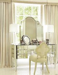 glass bedroom vanity furniture corner mirrored vanity table pier one with drawer and