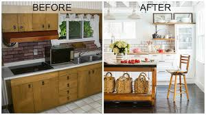 Kitchen Before And After Makeovers Amazing Home Makeovers Got To See It To Believe It