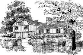 tudor style house plan 4 beds 2 5 baths 2428 sq ft plan 72 670