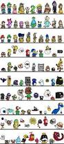 100 mario characters images reverse