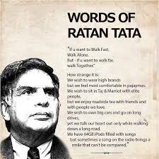 most inspirational words by ratan tata on dont give up world