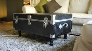Suitcase Coffee Table Wonderful Suitcase Coffee Table Diy Vintagetrunk Coffee Table