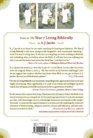 the year of living biblically one s humble quest to follow