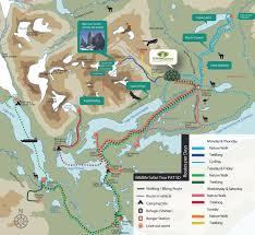Patagonia Map Patagonia Tour Torres Del Paine Chile Hiking Wildlife Safari