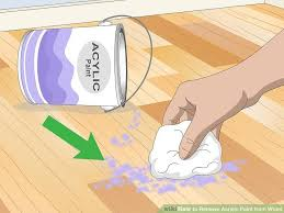 3 ways to blend acrylic paint wikihow 5 ways to remove acrylic paint from wood wikihow
