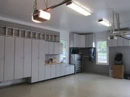 garage with corner cabinets and ceiling lighting good garage garage with corner cabinets and ceiling lighting good garage lighting solutions