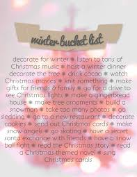 winter bucket list white with a touch of color 2 pinterest