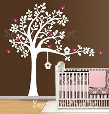 Nursery Tree Wall Decal Wall Decals Nursery Tree Wall Decal Baby Garden Tree Vinyl