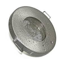 einbaustrahler badezimmer 7w set einbaustrahler ip65 optik edelstahl gebürstet bad dusche
