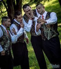hunting camo themed pink wedding groom u0026 groomsmen for