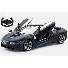 bmw i8 car amazon com radio model car 1 14 bmw i8 authentic