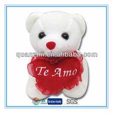 valentines teddy bears te amo valentines teddy bears with heart wholesale buy