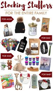 Stocking Stuffer Ideas For Him Stocking Stuffers For The Entire Family Stocking Stuffers
