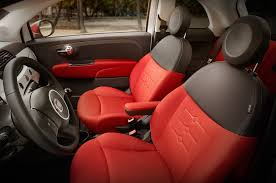 Fiat 500 Interior 2015 Fiat 500 Abarth Automatic Around The Block