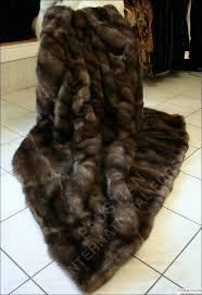 Real Fur Blankets 335 Best Blankets Images On Pinterest Blankets Furs And Fur Blanket