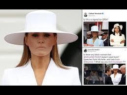 Fedora Hat Meme - melania trump white hat inspires hilarious memes youtube