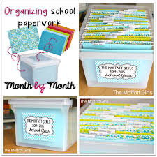 Organizing Clutter by The Paper Clutter Monthly Organization