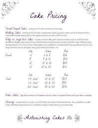 cake pricing astonishing cakes everything food pinterest