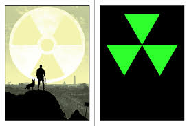 i made a glow in the dark fallout poster simply titled