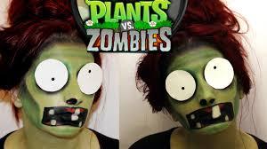 Plants Zombie Halloween Costumes Plants Zombies Inspired Halloween Makeup