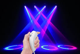 with moving lights via a wii joystick isquint net