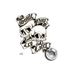 35 gothic skull tattoos gothic skull tattoos pinterest