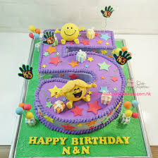 mr happy u0026 ms sunshine birthday cake