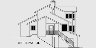 sloping house plans view house plans sloping lot house plans multi level house plan