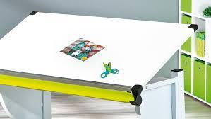 Kinder Schreibtisch Schreibtisch Cetrix Weiß Und Metall Grün Lackiert