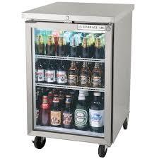 glass door bar beverage air bb24gf 1 s led 24