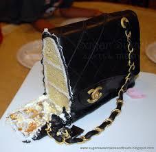 cake purse chanel classic handbag cake sugar sweet cakes and treats